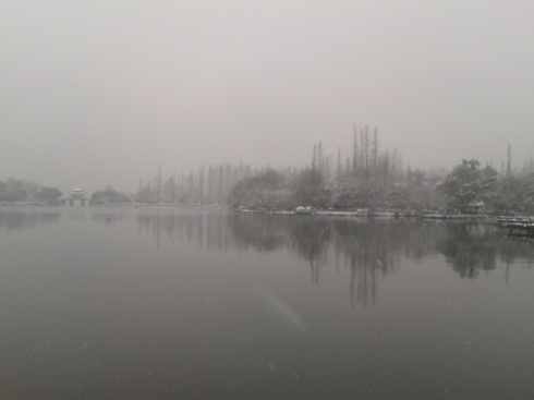 A Grey West Lake