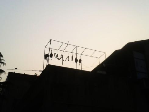 hanging food in Hangzhou