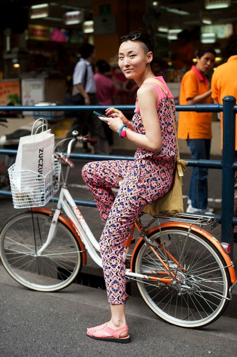 bicycle chic from Shanghai Express
