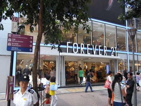 image of forever 21 storefront from wikipedia image