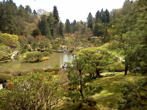 The Japanese Garden in Seattle