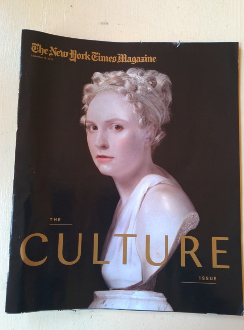 Lena Dunham The New York Times Magazine Cover